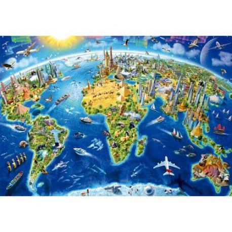 Mapa del mundo 2000